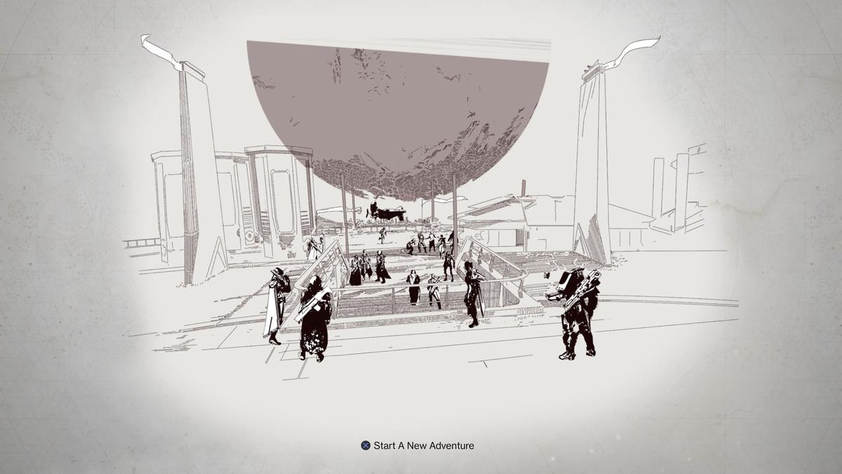 Destiny 2 - start a new adventure