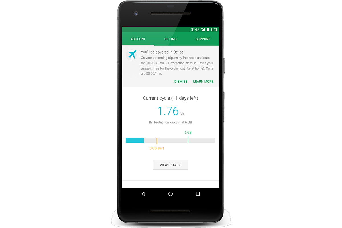 Google's Project Fi now offers data coverage in 170 countries