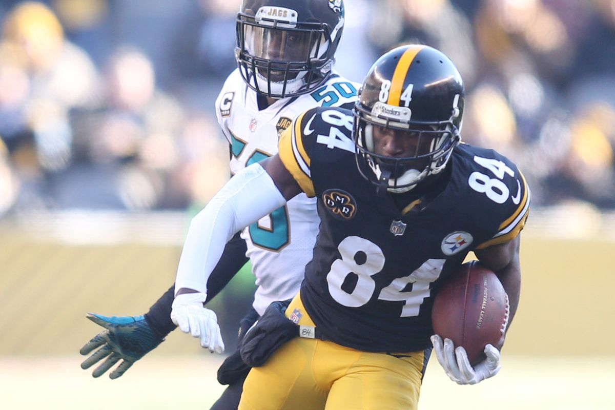 """f1e58fc49 Antonio Brown continues to prove why  Business is Still Boomin """" in  Pittsburgh"""