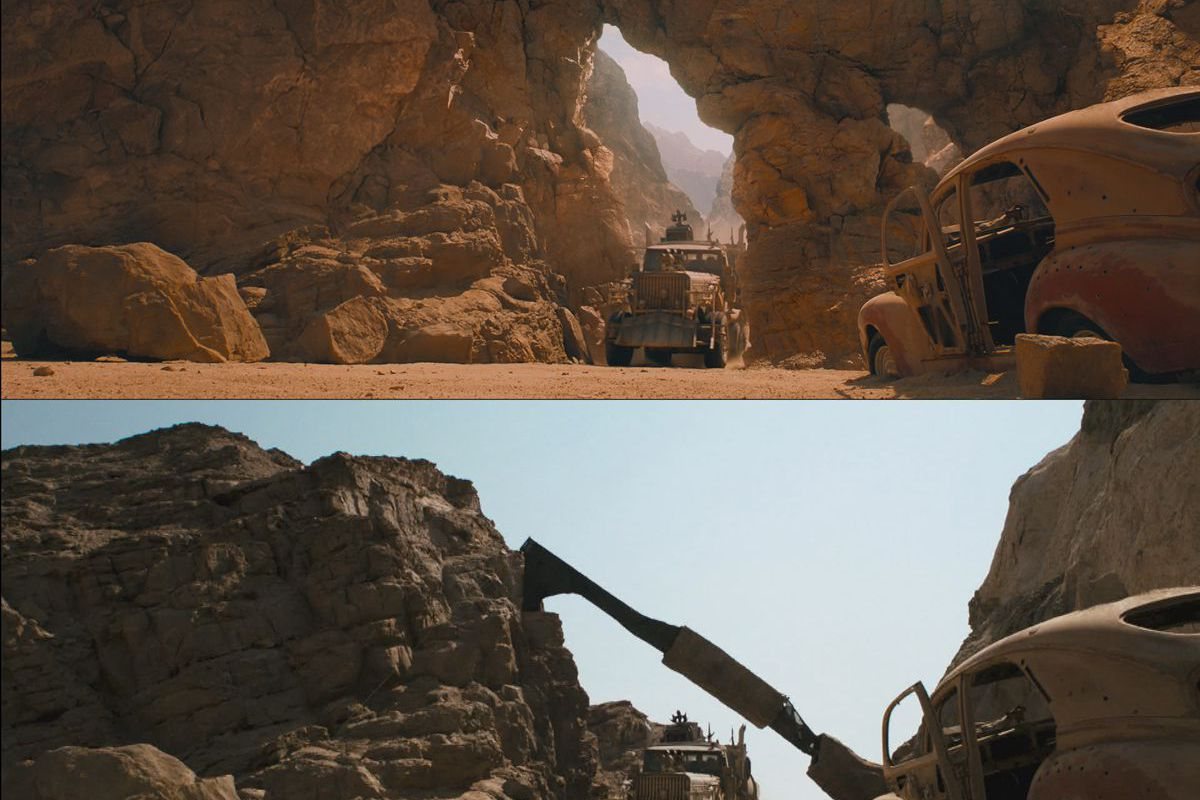 Stunning before-and-after shots of Mad Max and its computer