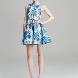 """Alice + Olivia Foss Floral Jacquard Dress, <a href=""""http://www1.bloomingdales.com/shop/product/alice-olivia-dress-foss-floral-jacquard?ID=1018928&CategoryID=2911#fn=spp%3D1%26ppp%3D96%26sp%3D1%26rid%3D%26spc%3D157items found%26cm_kws%3Dalice%20+%20olivia"""""""