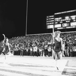 1984 End Zone view