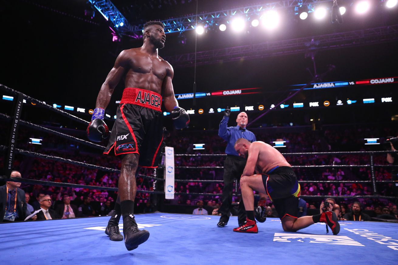Top Rank signs top heavyweight prospect Ajagba