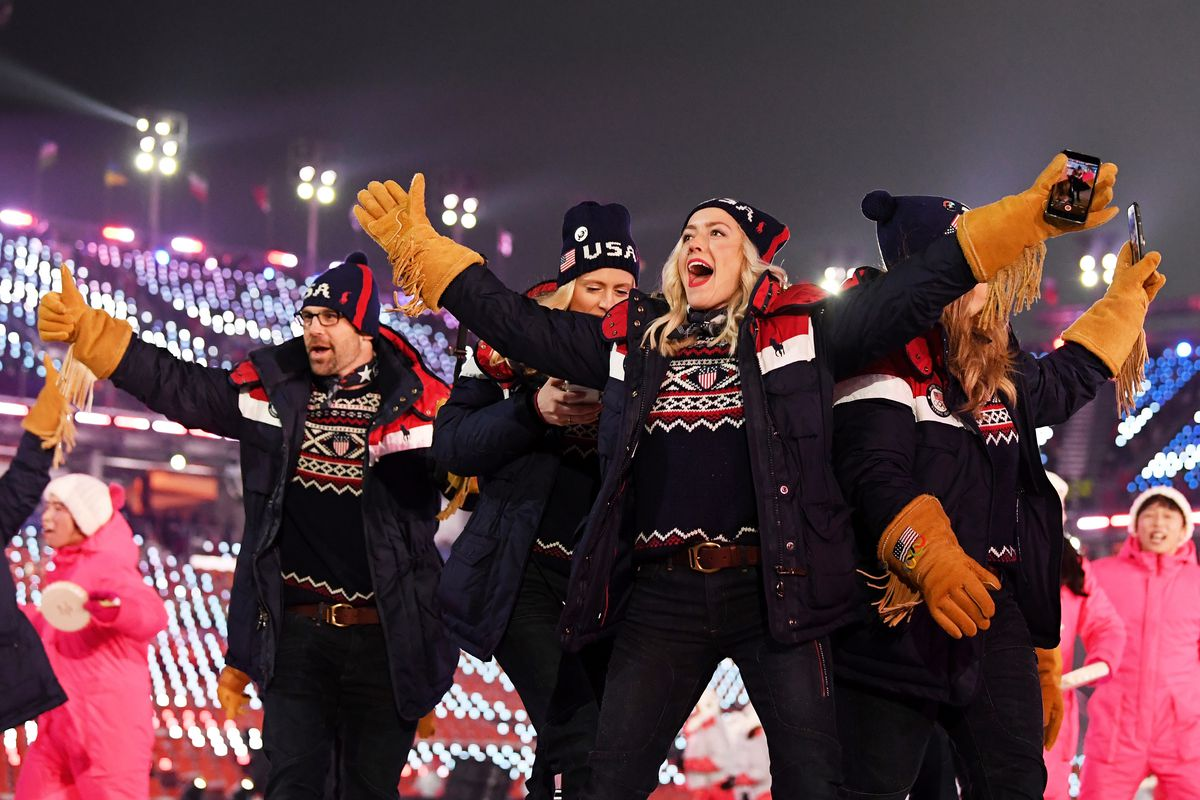 Ranking every piece of USA s Winter Olympics opening ceremony outfit ... b84e60c60