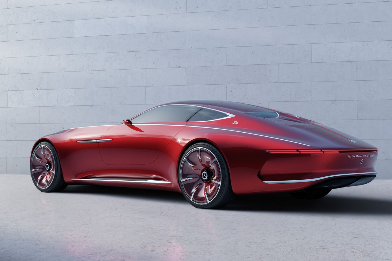 Mercedes Long Beach >> The Vision Mercedes-Maybach 6 coupe concept is a retro ...