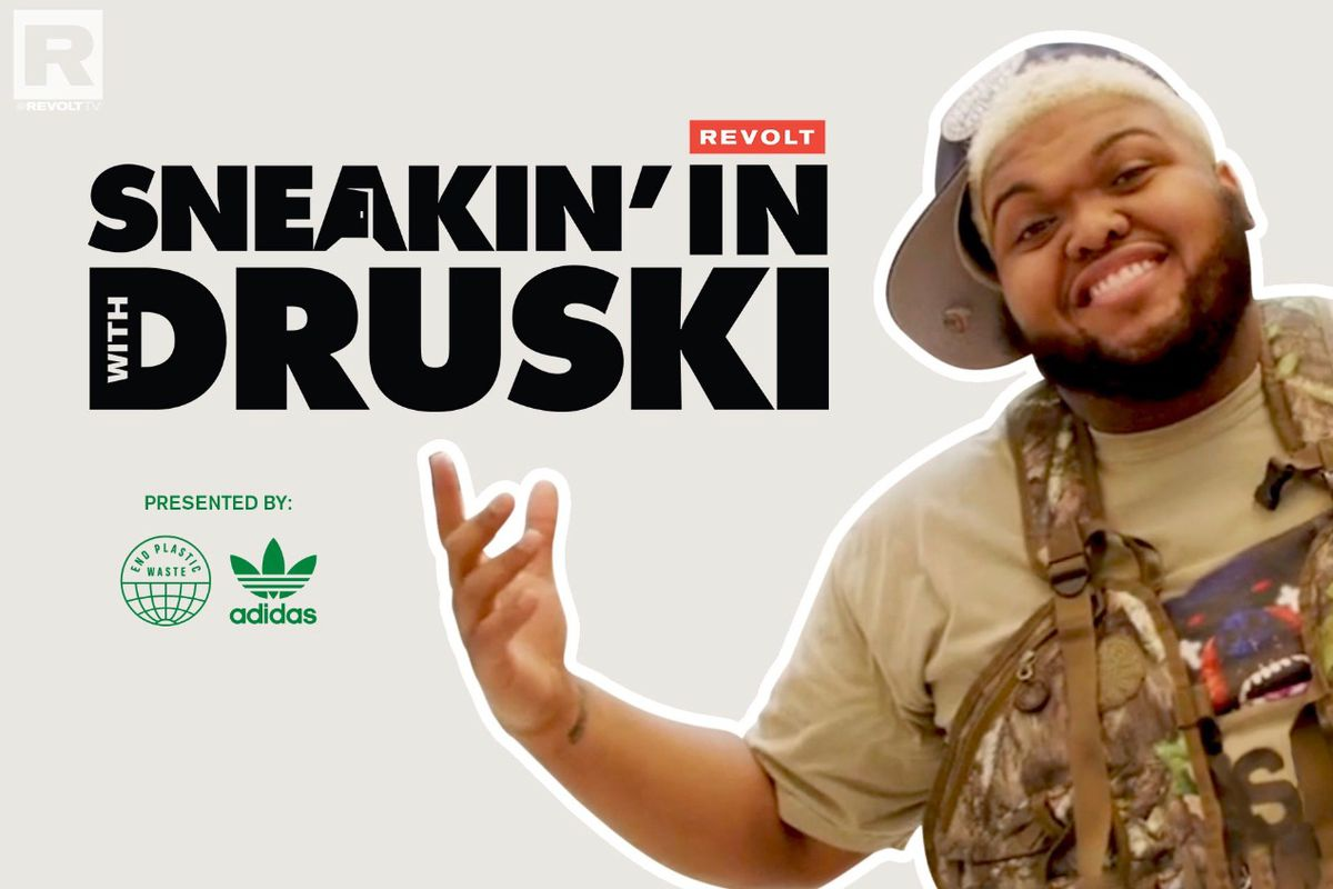 """REVOLT and Adidas collab """"Sneakin' In With Druski"""""""