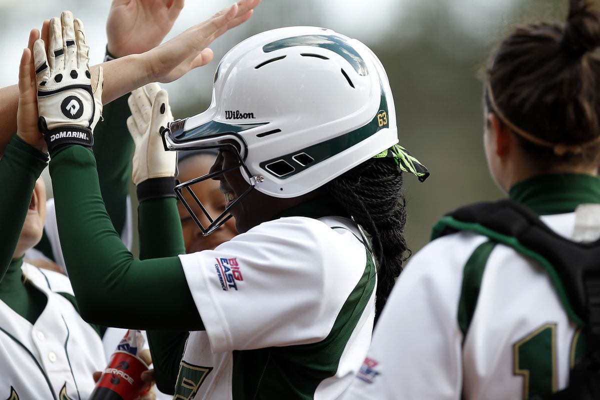 USF excited about moving up the rankings. Credit USF Athletics For Photo