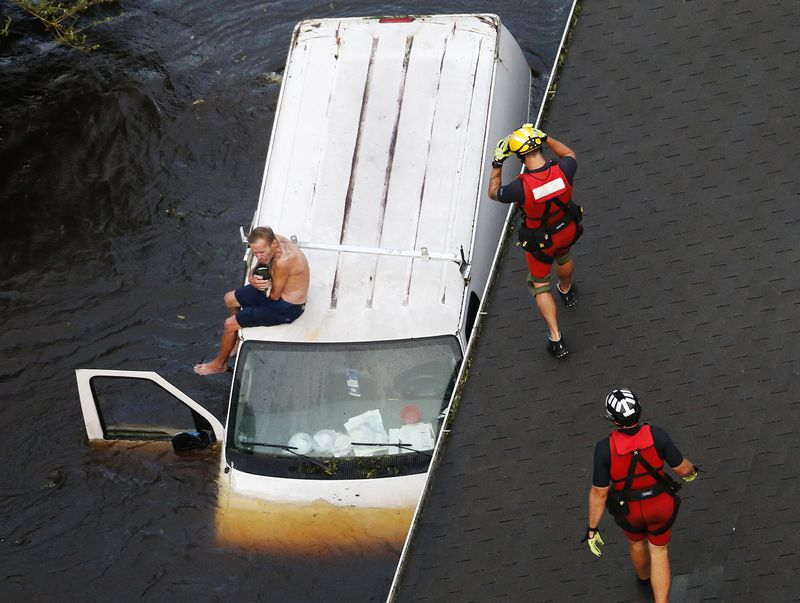 AP_18260536128596 Photos: what Hurricane Florence's destruction looks like on the ground