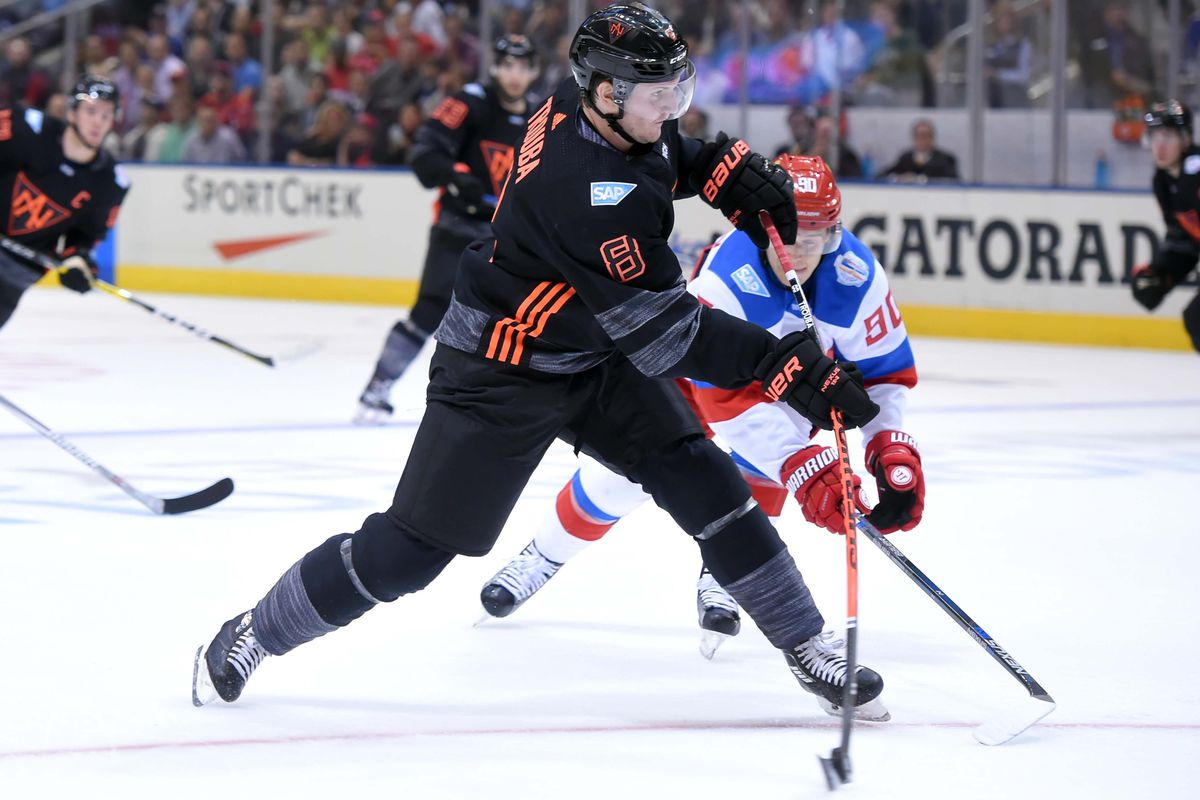 Hockey: World Cup of Hockey-Team North America vs Team Russia