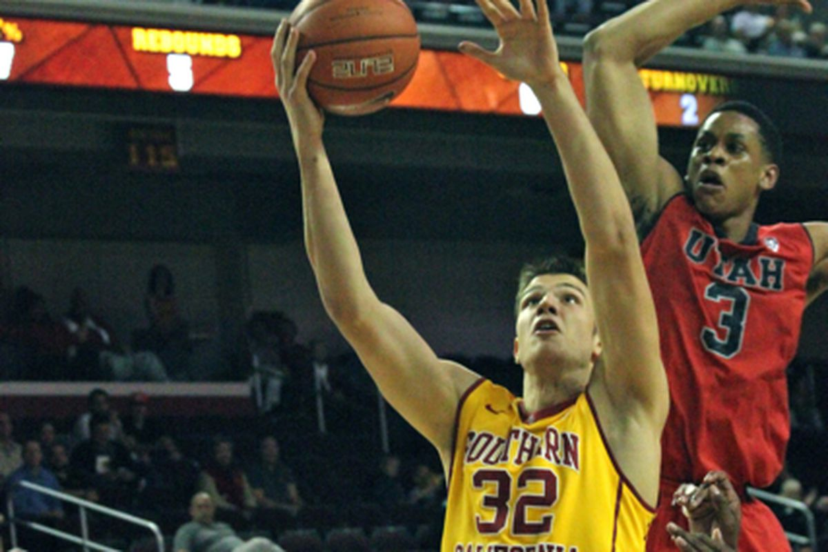 The Trojans are expecting double digits from Jovanovic.