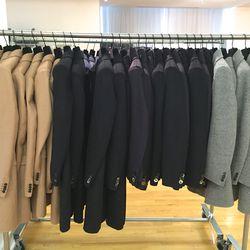 Men's coats, 40% off