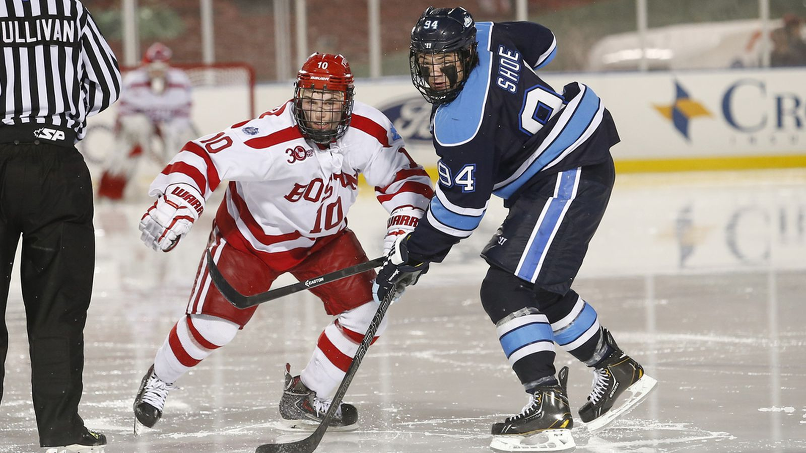 Frozen Fenway Playing Outdoors Came Easy For Devin Shore Sb