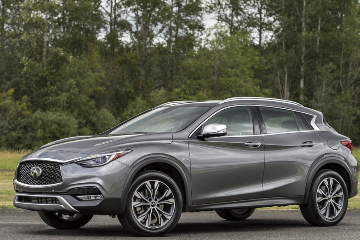 Infiniti Qx30 Is Dynamic Driving Compact Crossover