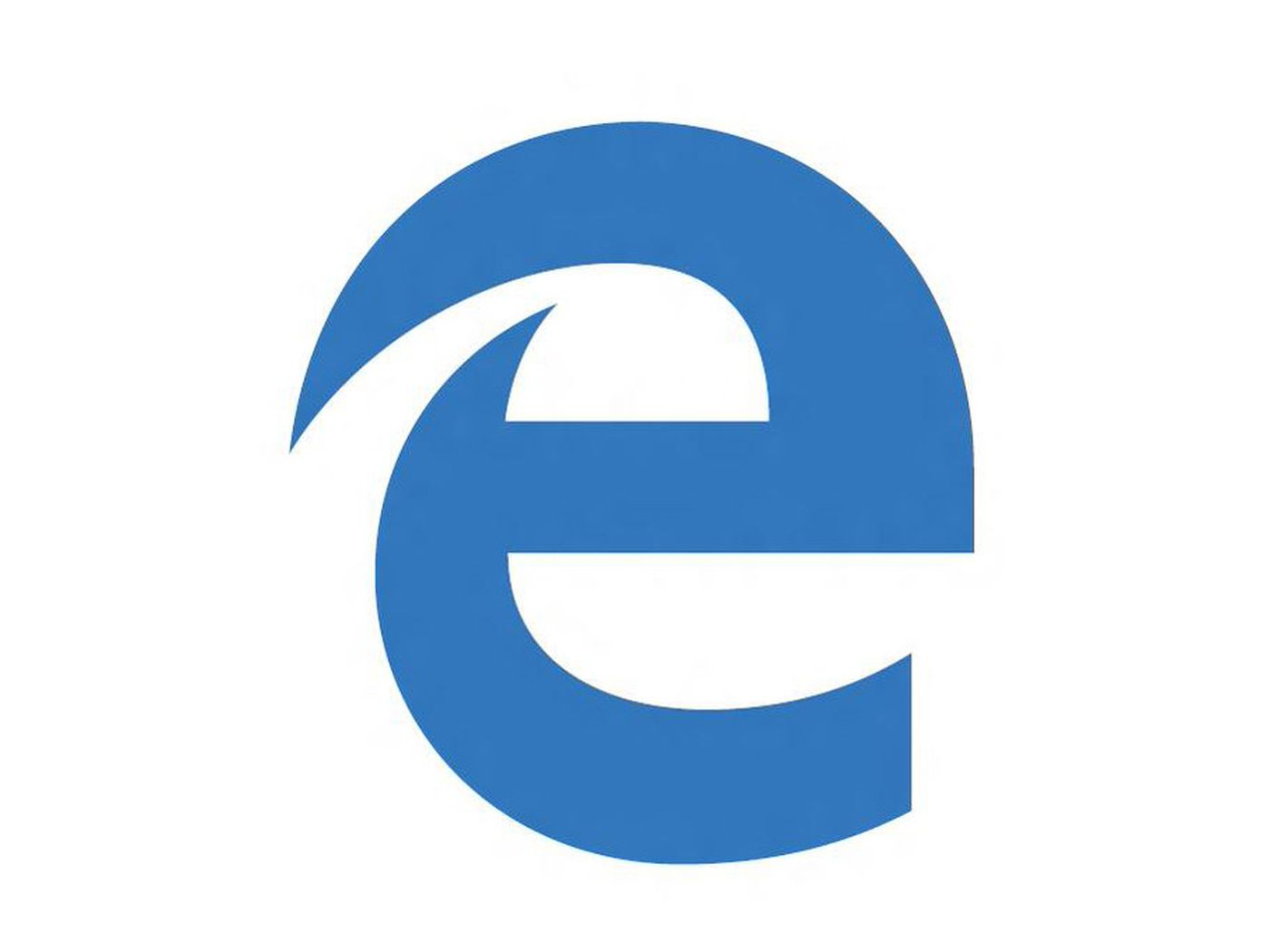 What Is Hiding In The Negative Space Of Microsoft S New Edge Browser Logo The Verge