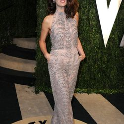 Marisa Tomei, is that a spangled pantsuit? Love it.