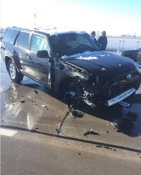 Ben Heeney truck accident