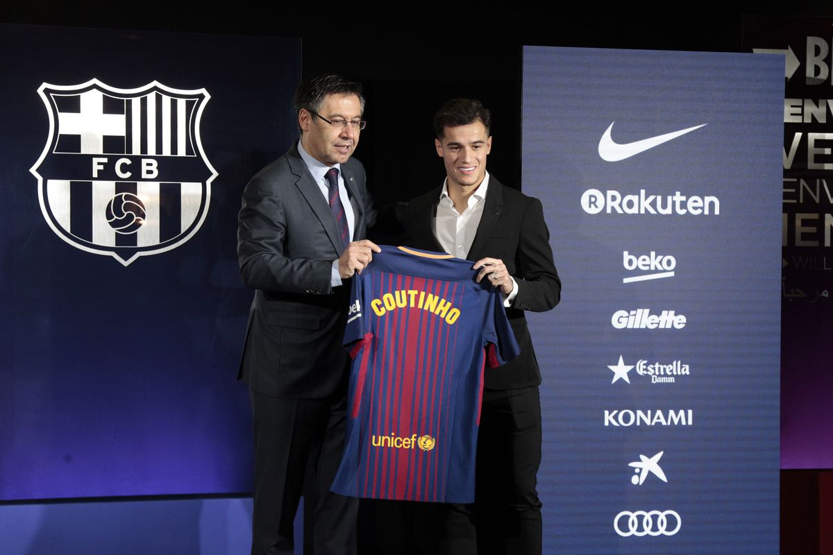 adc01a0a0 FC Barcelona News: 9 January 2018; Philippe Coutinho Presented, Samuel  Umtiti Back in Training