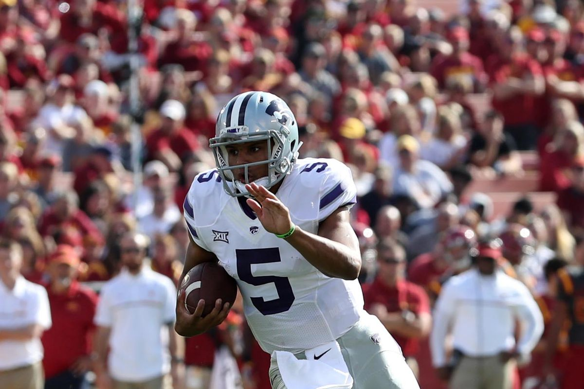 Bill Snyder says Alex Delton's improved. We'll see in a few weeks.