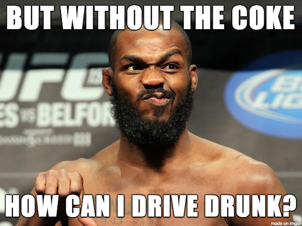 Bones Nose - The Memes That Came Out Of The Jon Jones Cocaine Debacle -  Bloody Elbow