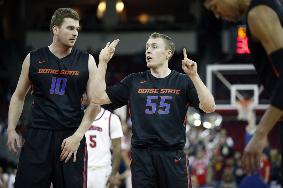 NCAA Basketball: Boise State at Fresno State