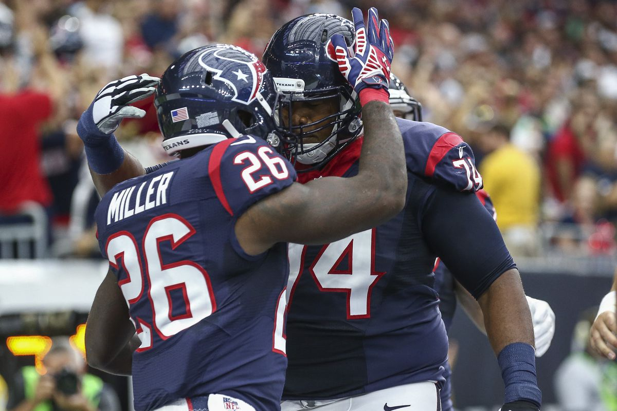 Lamar Miller being the best teammate he can be.