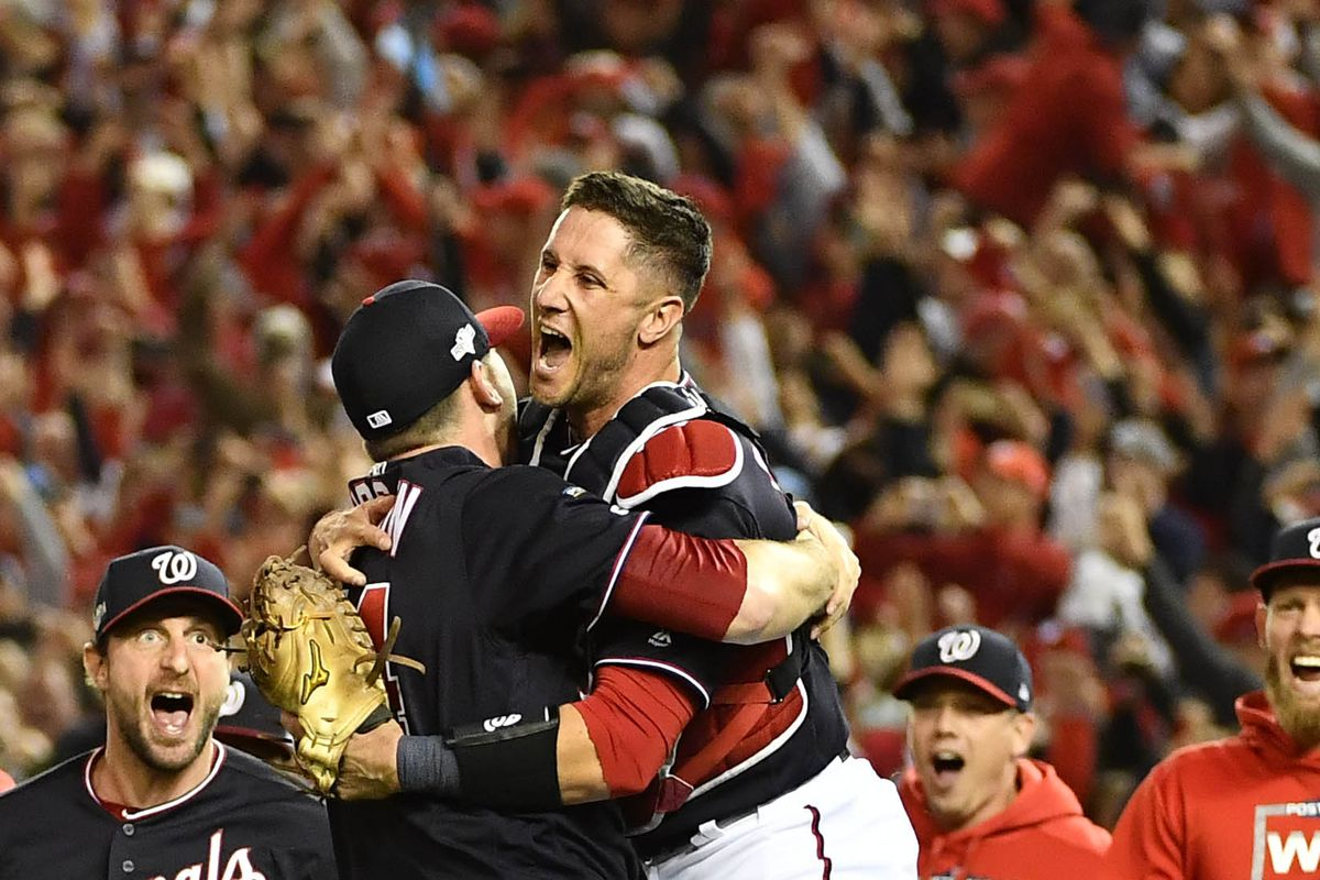 Yan Gomes leads Washington Nationals to first World Series in franchise history