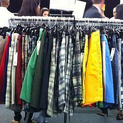 Loads of men's swimtrunks and shorts