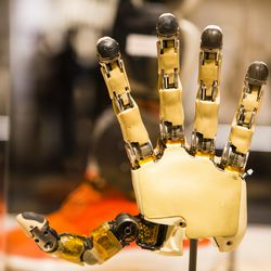 A modular prosthetic limb that feels  and acts like a real hand. | James Foster/For the Sun-Times