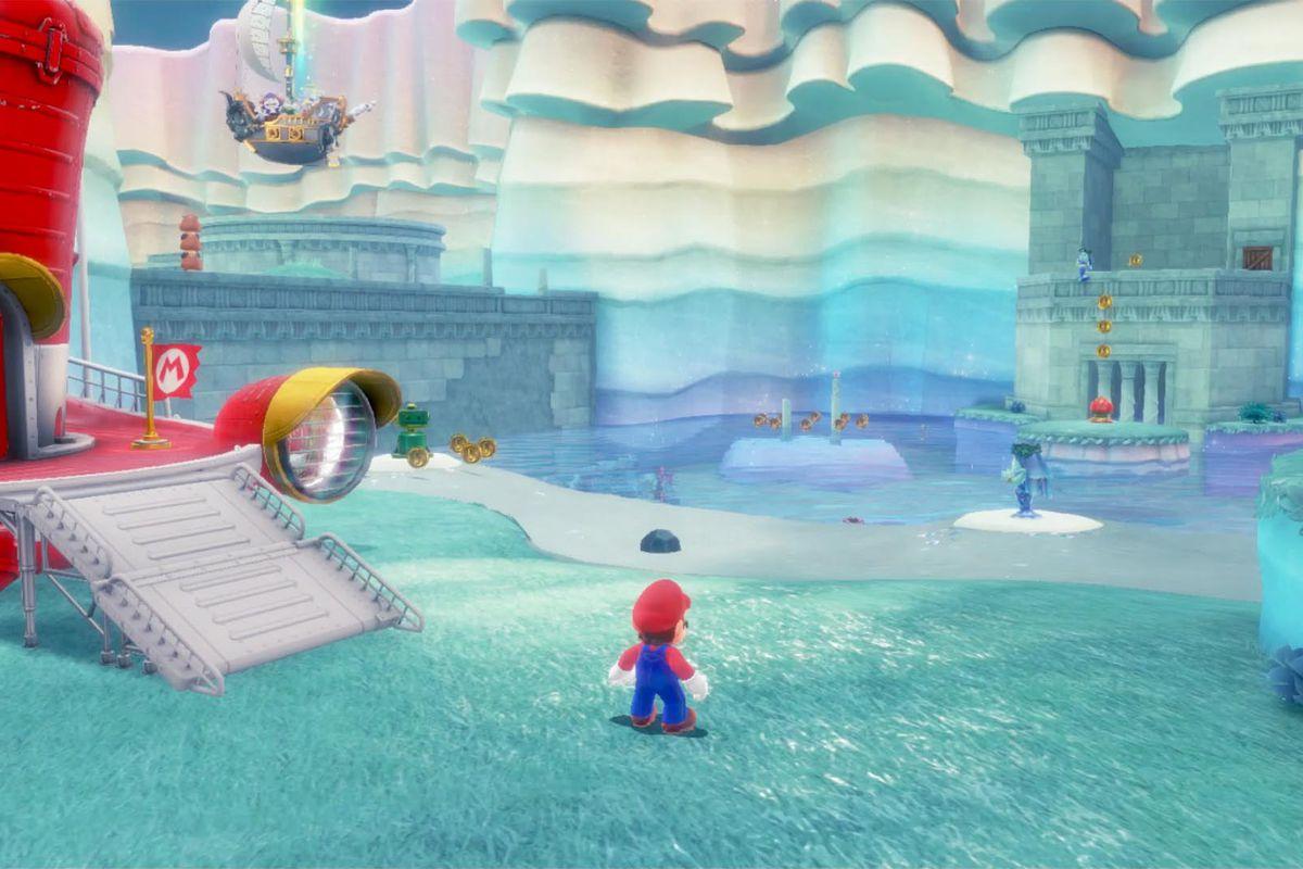 Super Mario Odyssey guide: Lake Kingdom all power moon