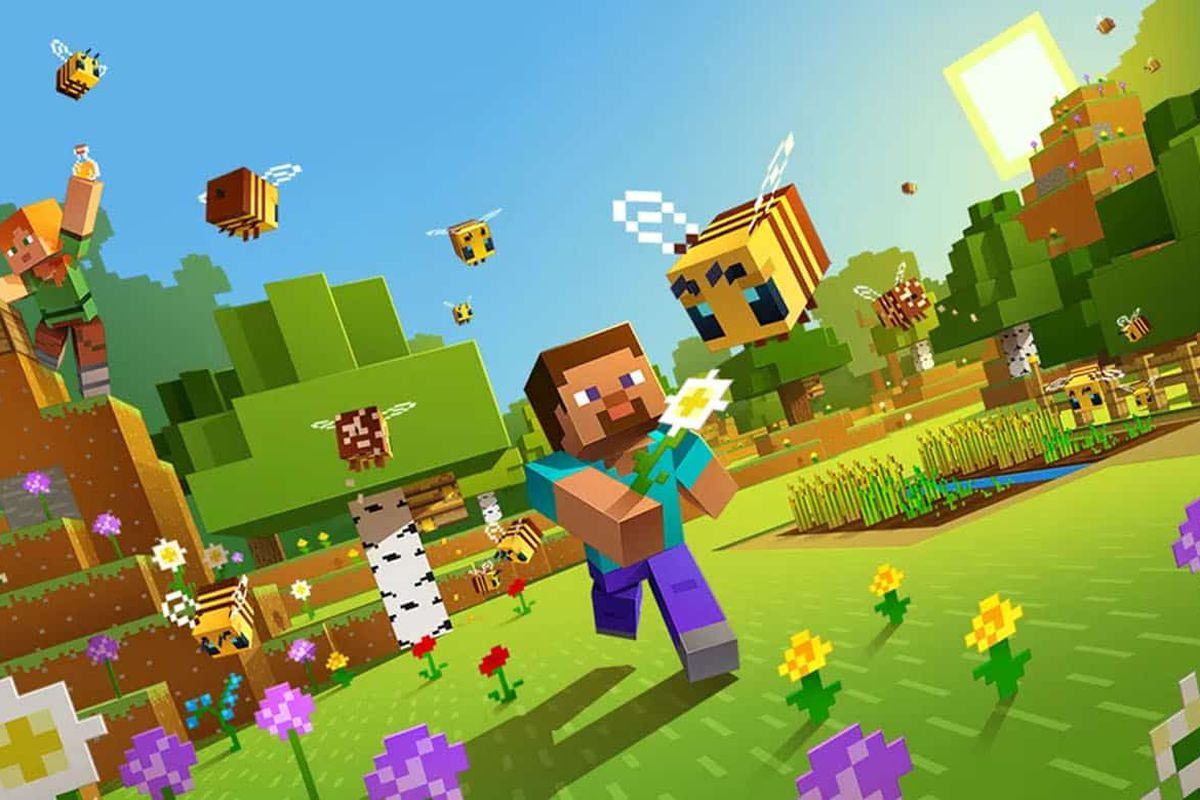 Minecraft is now available for PlayStation VR as a free update - The Verge