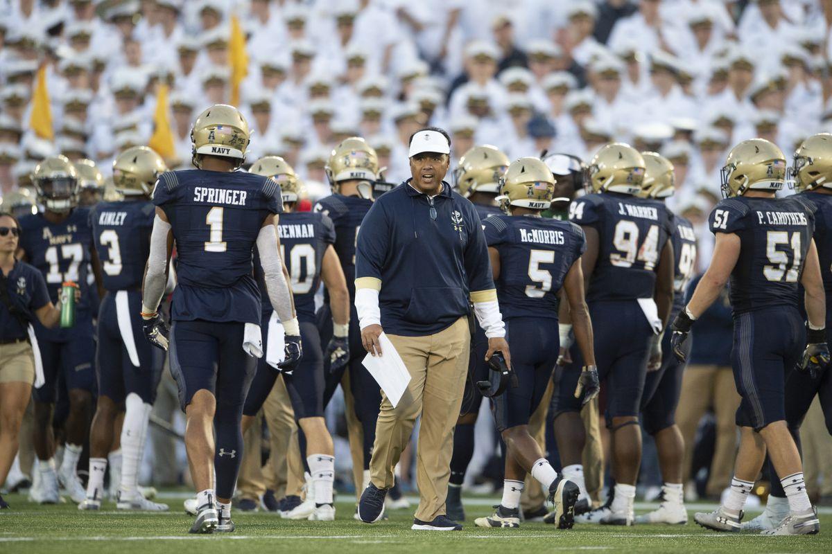 NCAA Football: Air Force at Navy