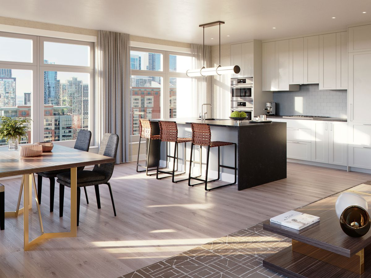 A First Look At One Bennett Parks Luxurious Apartments Monthly Rents In The New Streeterville Tower Start 3400