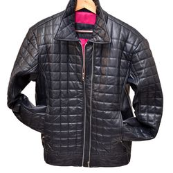 Called the Turtle Top Bomber, this jacket is a phenomenal take on quilted leather goods.