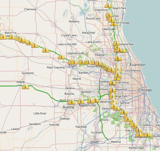 Chicago traffic and commuting update at 6 a.m. - Chicago Sun-Times on