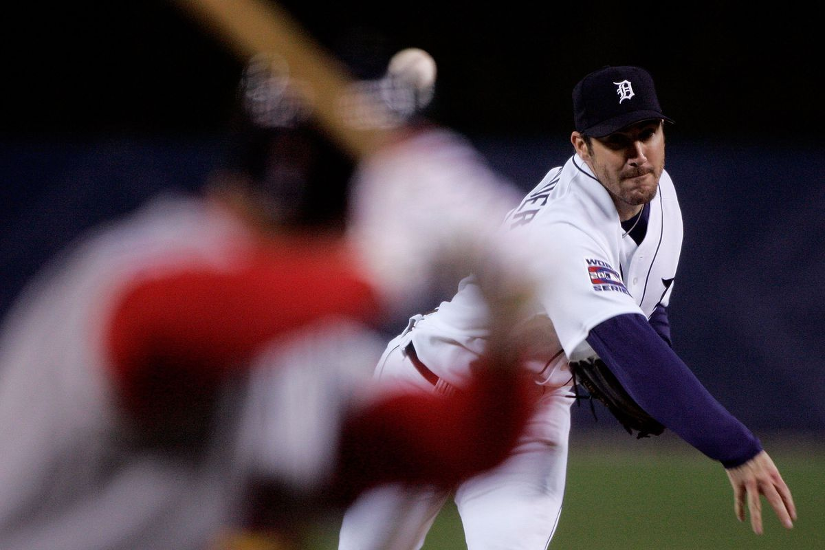 World Series Game 1:  St. Louis Cardinals v Detroit Tigers