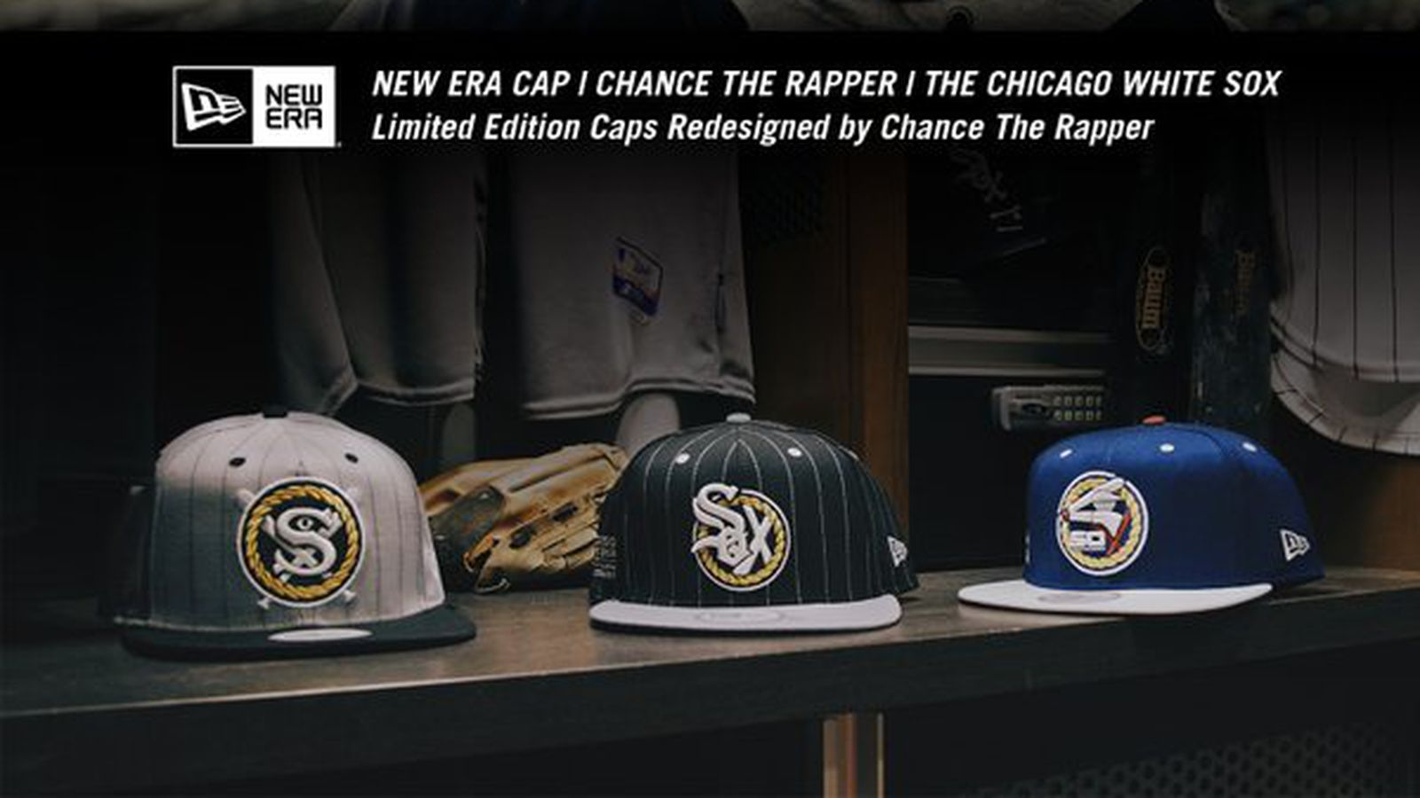 6583a57b1 Chance the Rapper designed a trio of really awesome White Sox hats -  SBNation.com