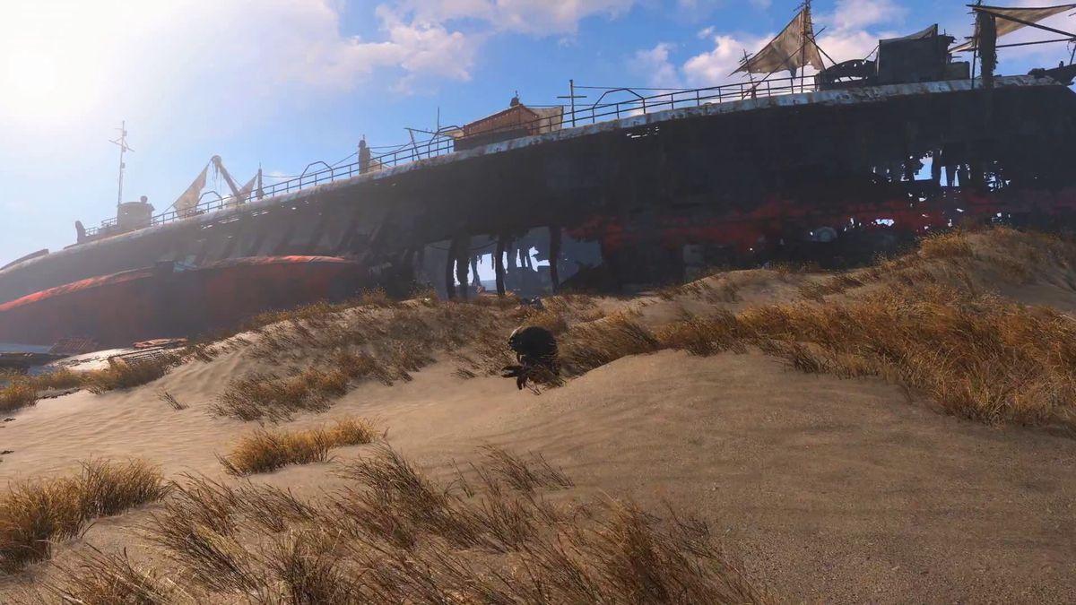 Fallout 4 - Mirelurk screencap 1920