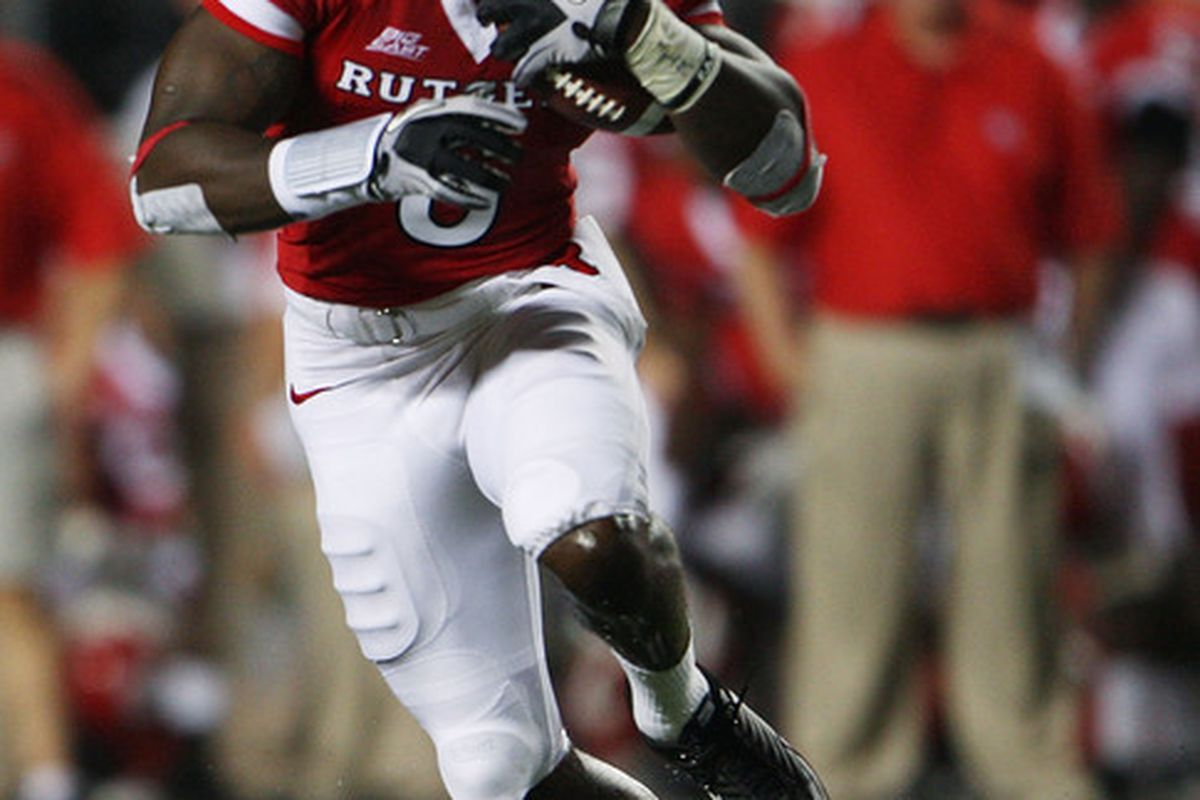 WR Mohamed Sanu, formerly a member of the Rutgers Scarlet Knights, will be playing on Sundays for the Cincinnati Bengals this fall.