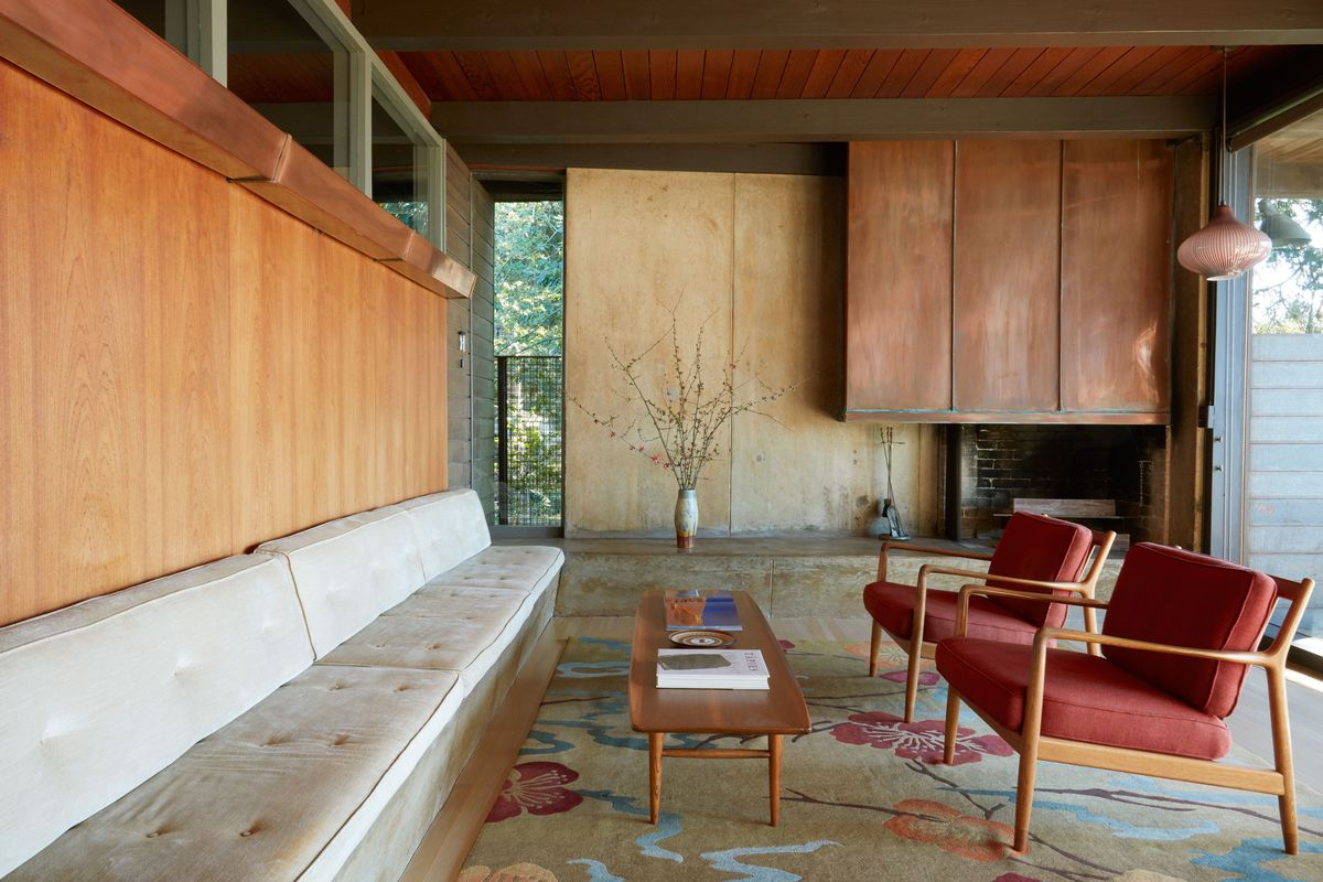 A Midcentury Modern Time Capsule Gets A Sensitive Remodel In Berkeley California Curbed