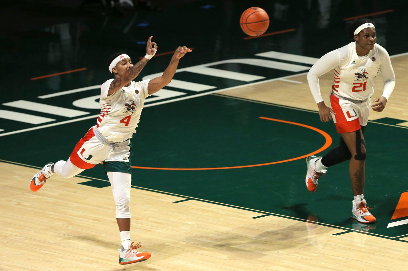 NCAA Womens Basketball: Florida Atlantic at Miami-Florida