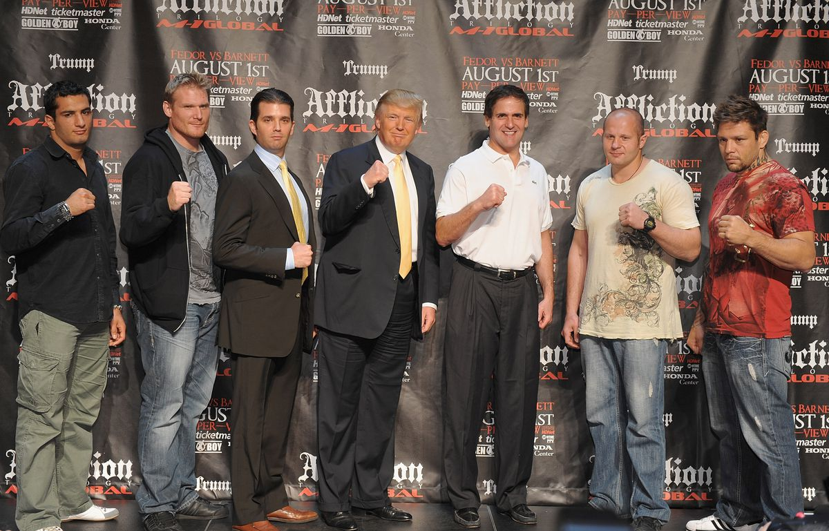 """Affliction M-1 Global """"Trilogy"""" Official Announcement - Press Conference"""