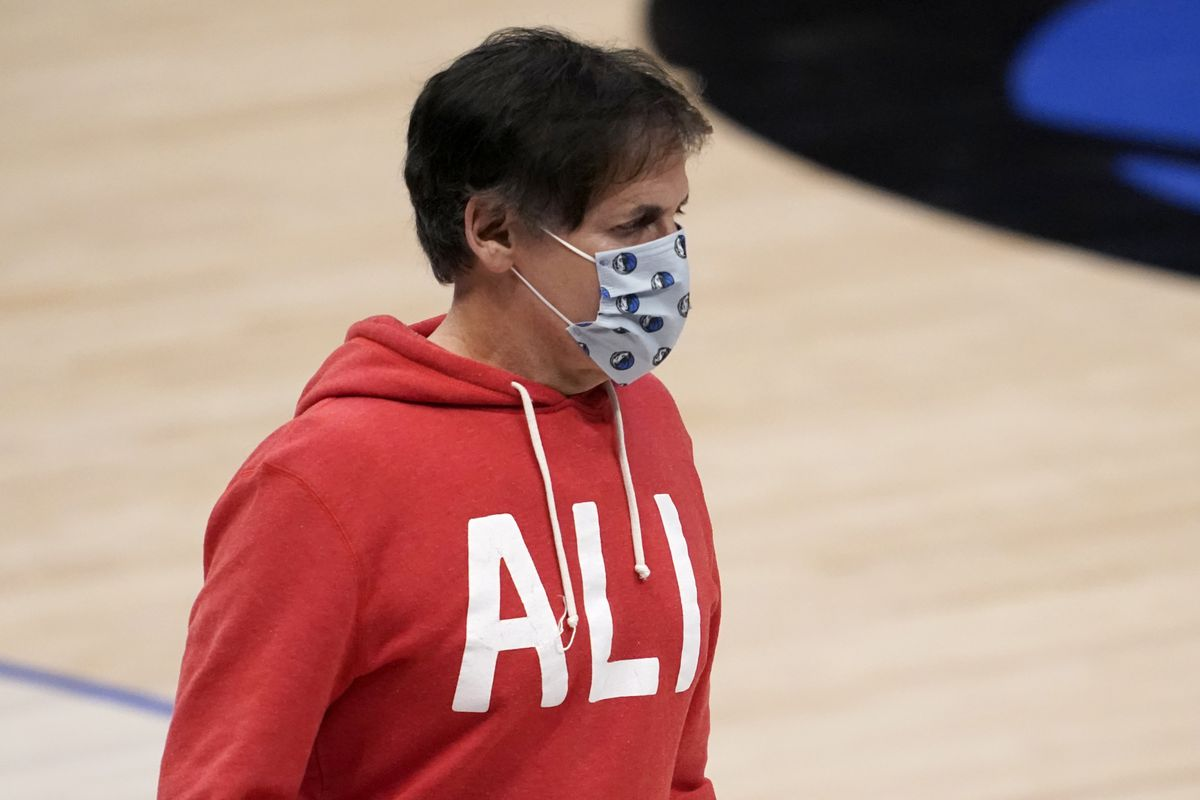 Dallas Mavericks owner Mark Cuban decided to not play the national anthem before his team's home games. The NBA later overturned Cuban's decision.