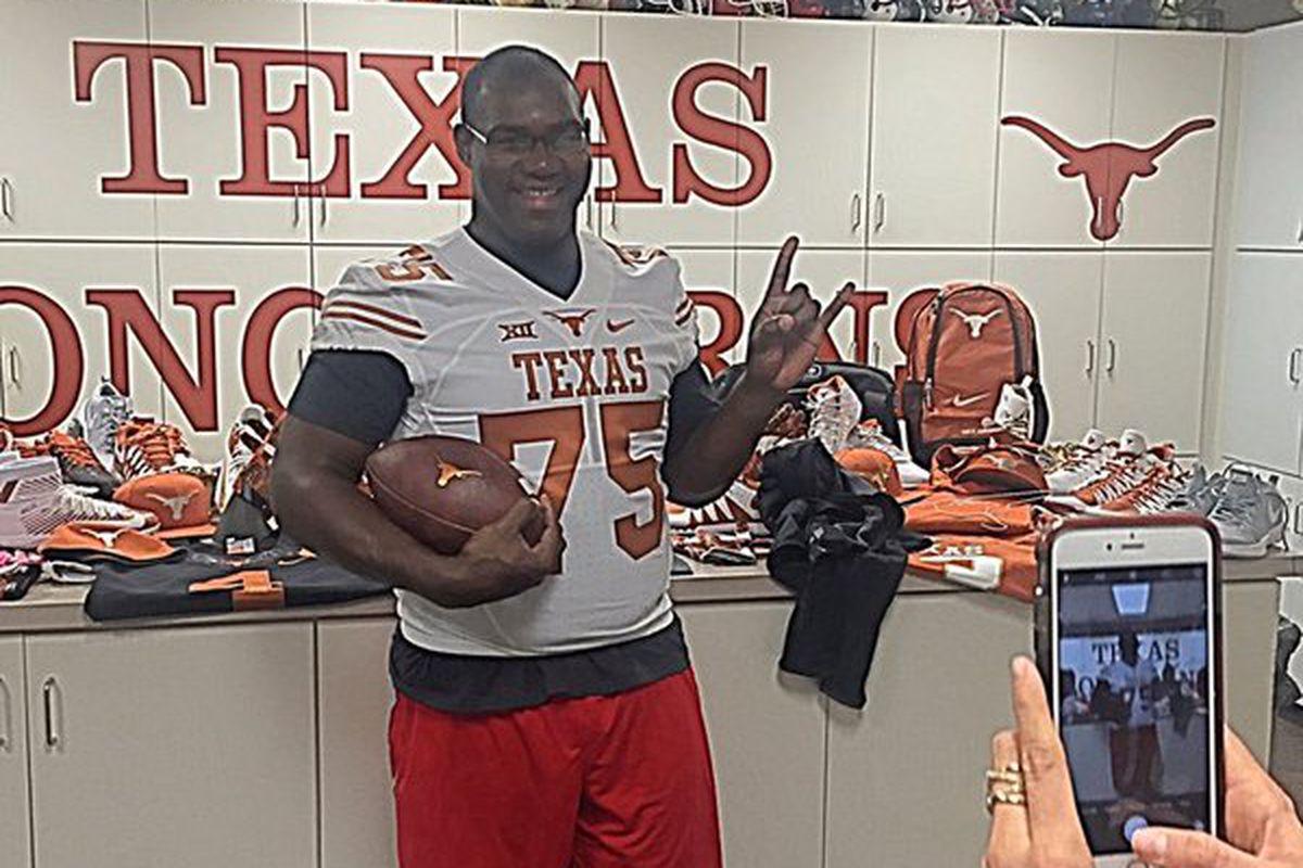 Patrick Hudson at Texas
