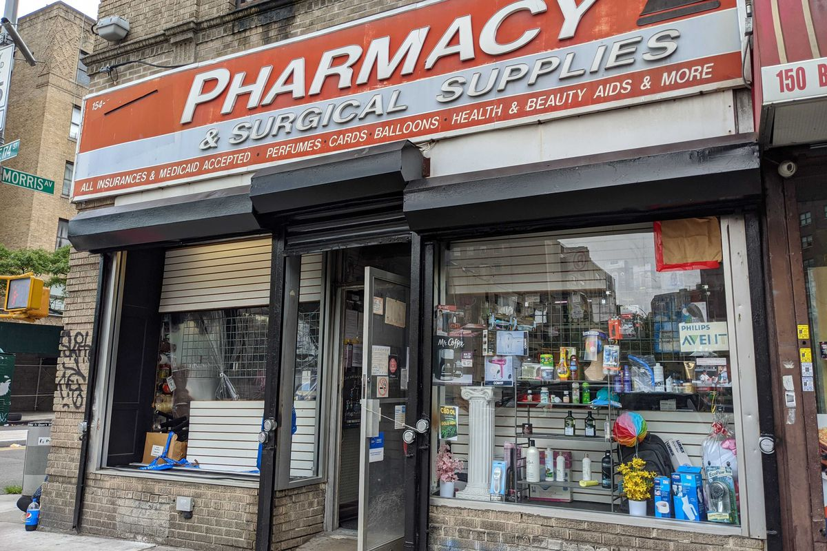 Asenico Pharmacy on East 174th Street in The Bronx, on July 8, 2020.