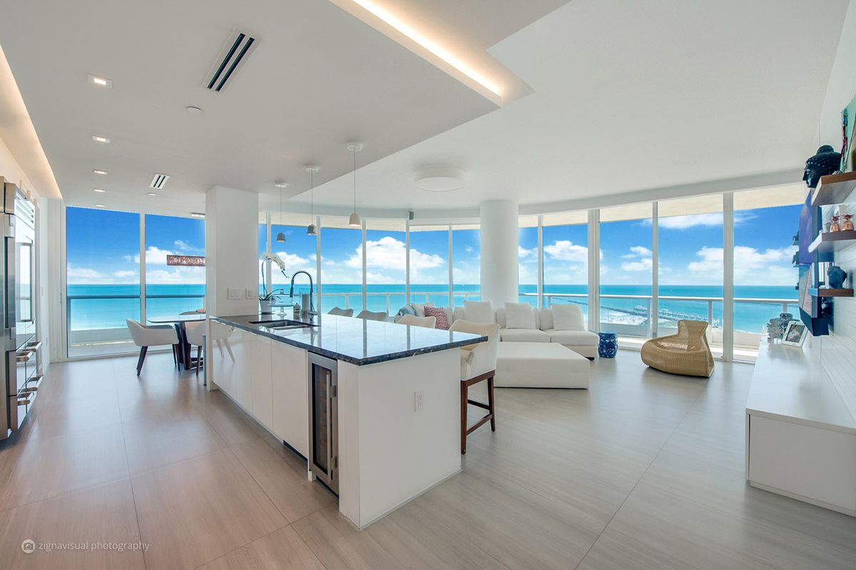 Dreamy Miami Beach Condo Owned By Former Race Car Driver