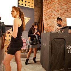 DJ Sosupersam pumped up the jams all night long