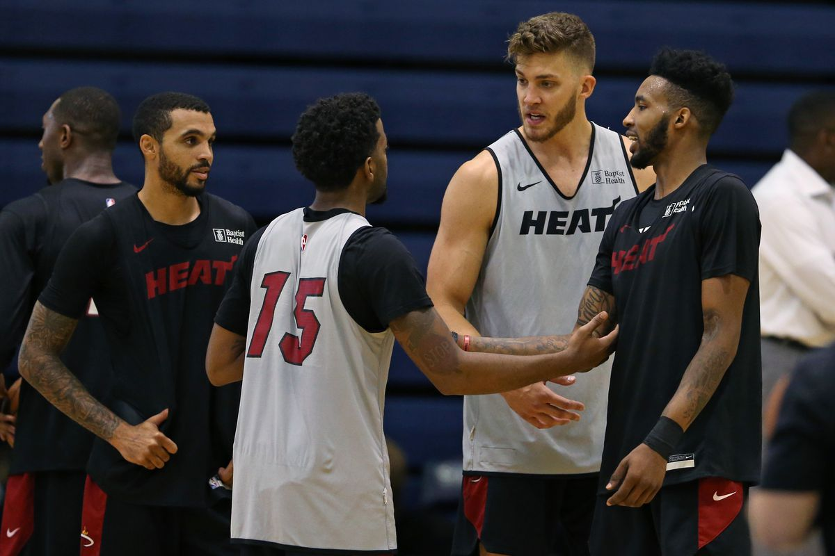 Key takeaways from the Miami Heat's Red, White and Pink team scrimmage at AA Arena
