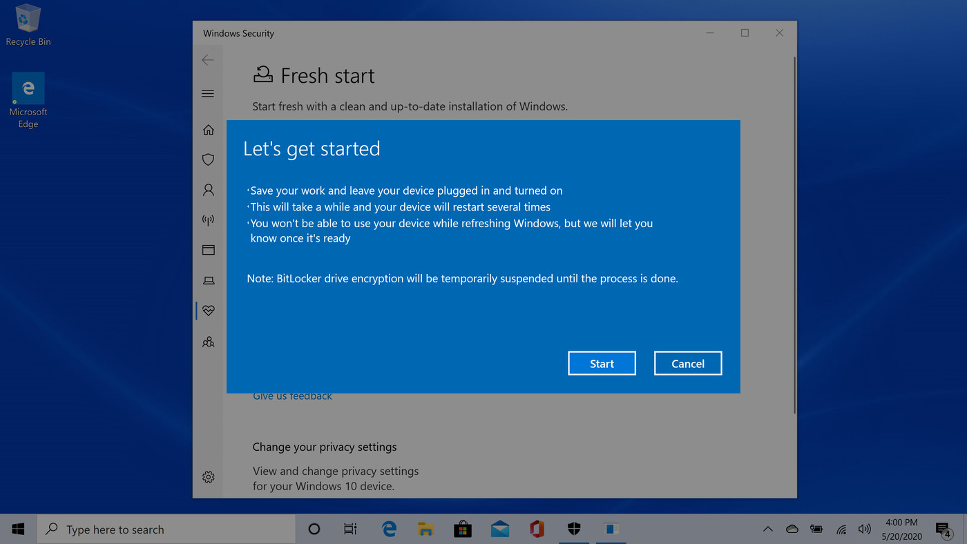 How to reset your Windows 10 PC when your having problems   The Verge