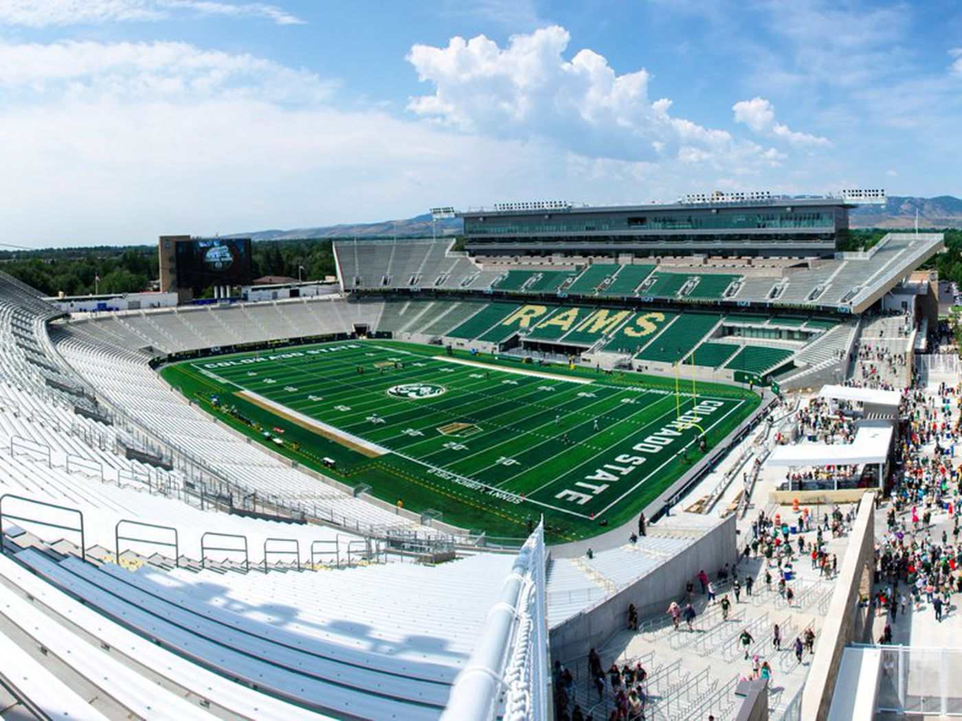 Colorado State S New Stadium Is One Of The Prettiest In College Football Sbnation