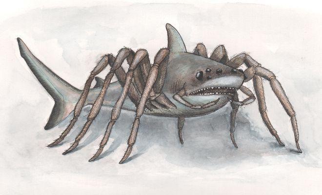 spidershark Why we love shark movies